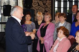 Заседание «Круглого стола», посвященное 20-летию организации с приглашением членов семей сотрудников МВД России.