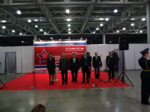 """Выставка """"Снабжение вооруженных сил"""" 23.11.12"""