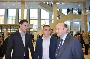 Во Дворце съездов Кремля. Ноябрь 2012 г.