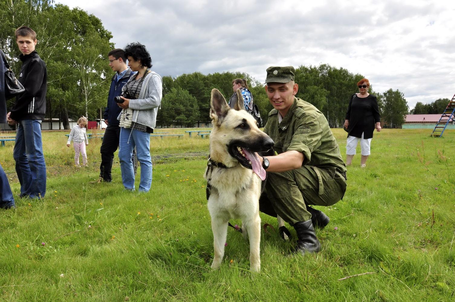 Посещение Ассоциацией центра служебного собаководства ВС РФ