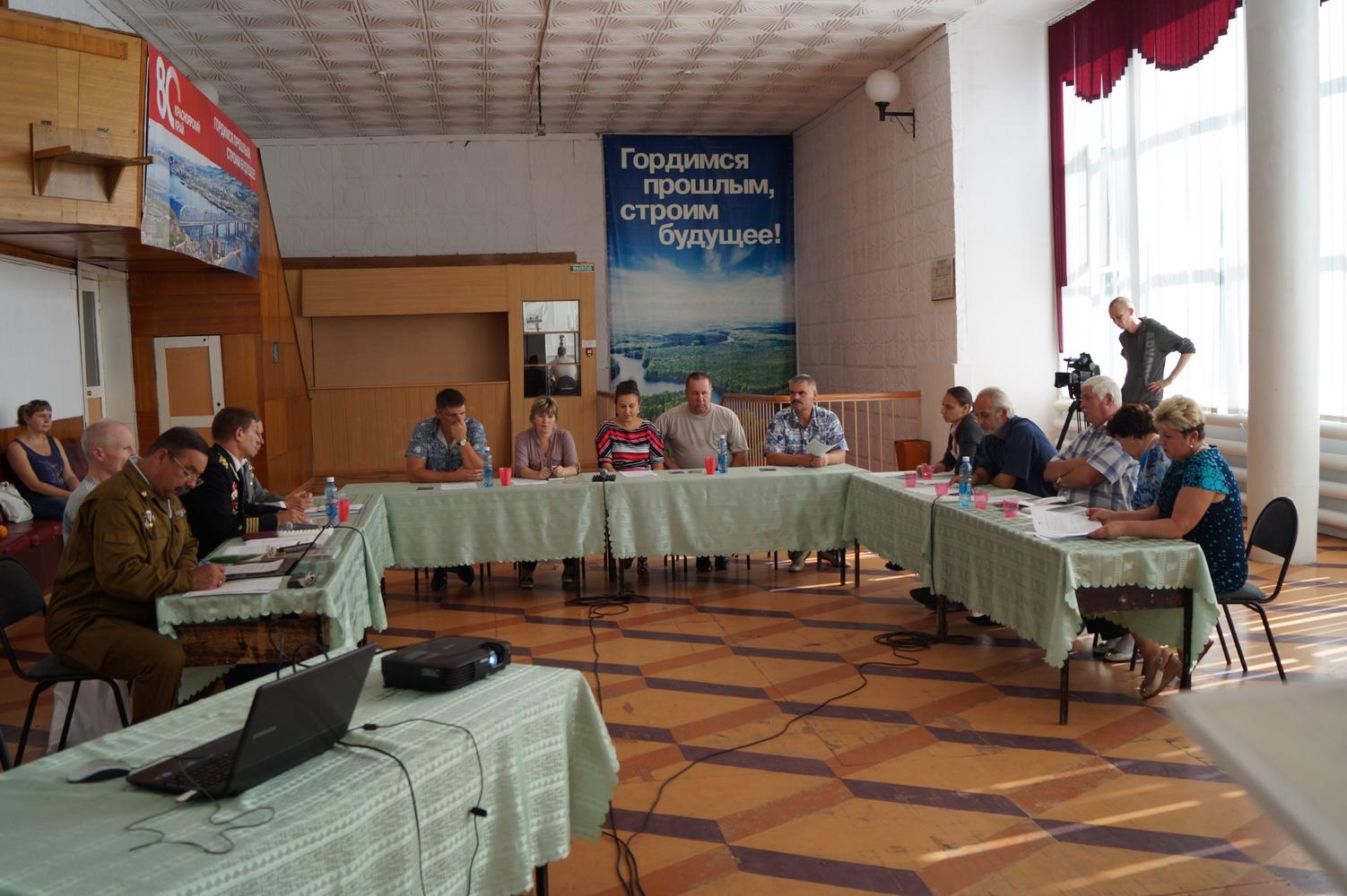 Проведение круглых столов в Красноярском крае с целью создания районных (городских) координационных советов по патриотическому воспитанию граждан