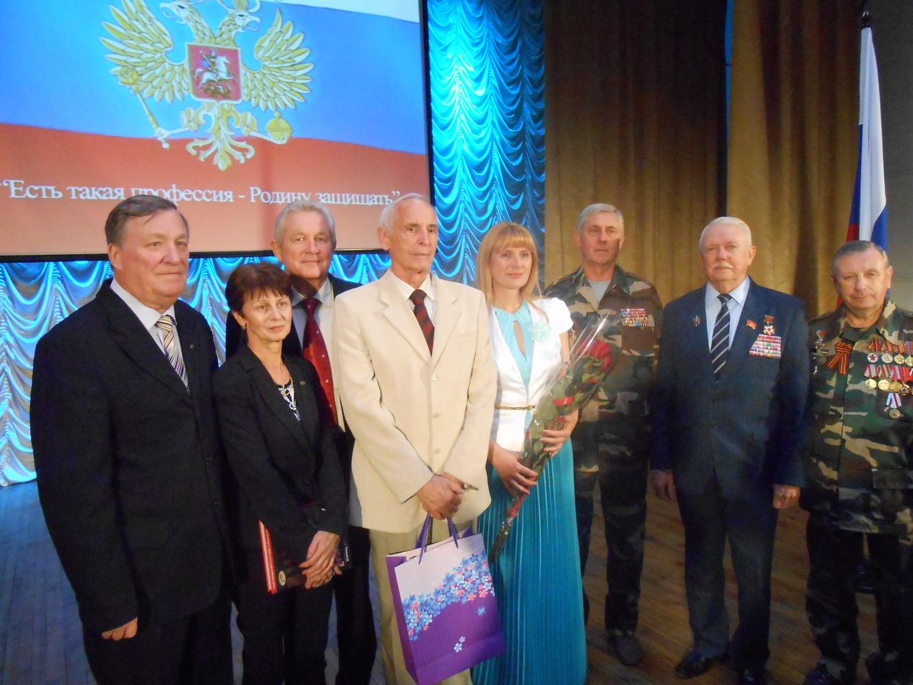 Встреча ветеранов Республики Крым с Народным артистом СССР Василием Лановым
