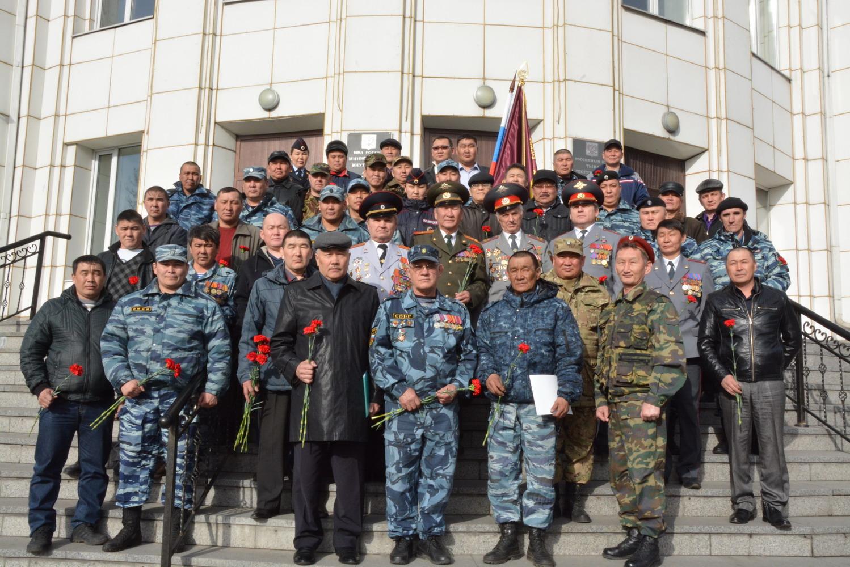 Создание Тувинского регионального отделения Ассоциация ветеранов боевых действий ОВД и ВВ России
