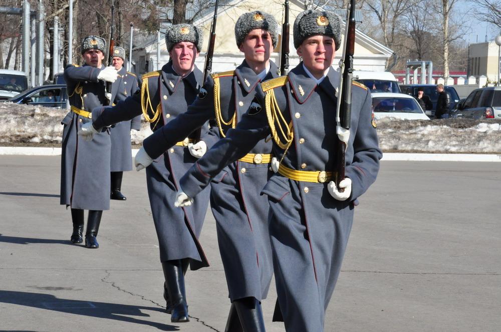 День внутренних войск в ОДОН им.Дзержинского