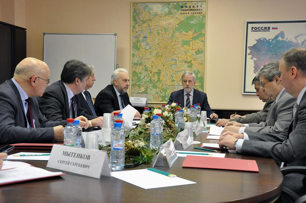 Заседание Общественного совета при Федеральном агентстве связи