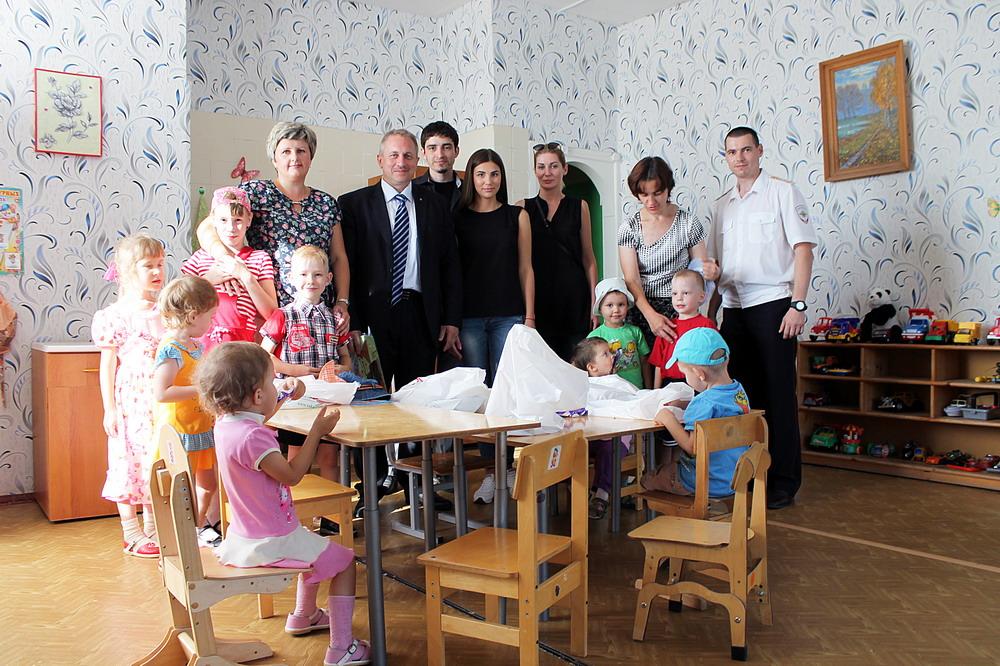 Посещение Мценского детского дома