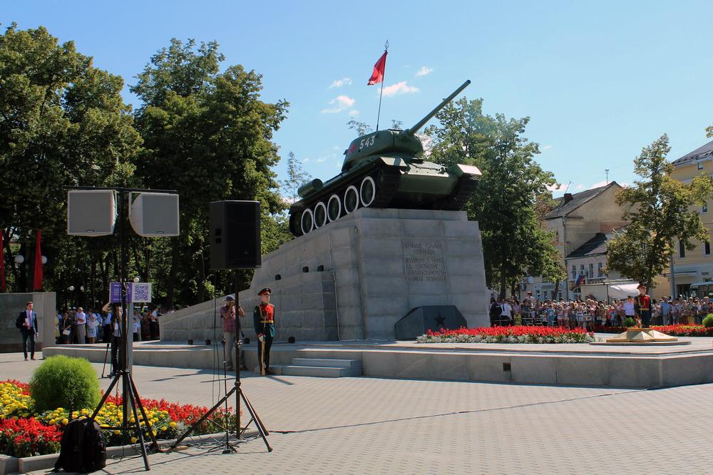 Праздничные мероприятия в честь 450-летия г. Орла