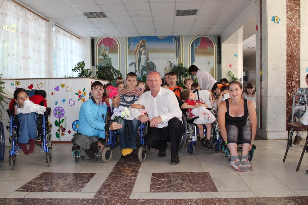 Посещение Болховского интерната
